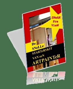 E-book voor de startende schilder