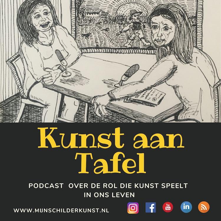 Coming soon podcast kunst aan tafel ansvianen